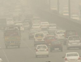 Heavy Smog in Nortern India